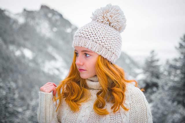 Die richtige Haarpflege im Winter ist besonders wichtig